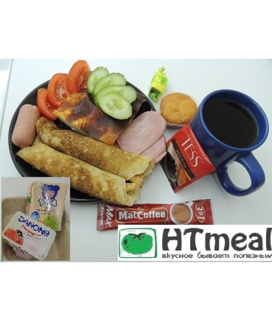 Комплексный завтрак для плотной трапезы