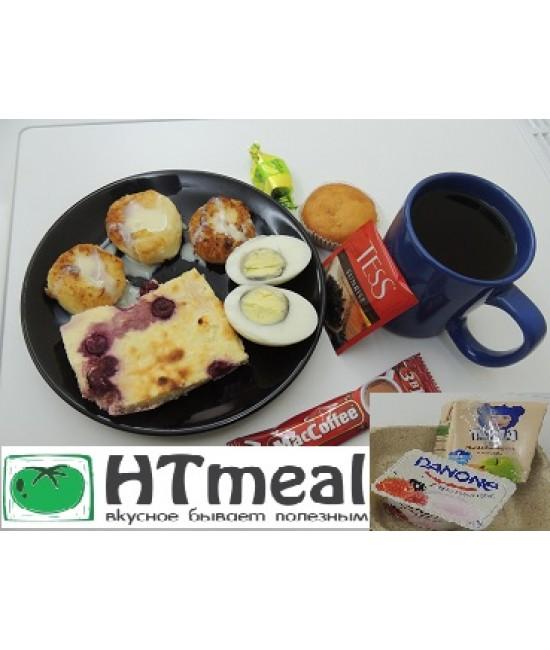 Завтрак с сырниками