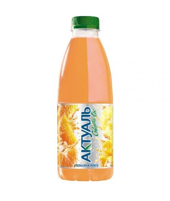 """Напиток """"Актуаль"""" на сыворотке апельсин-манго"""
