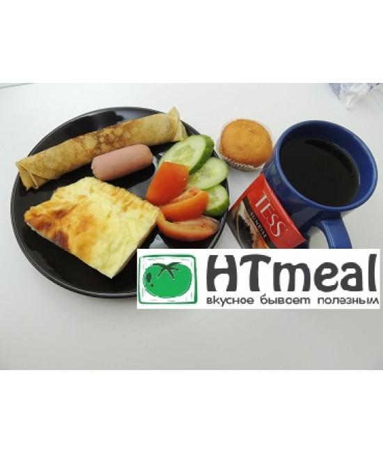 Комплексный завтрак с омлетом