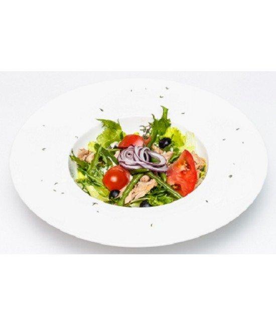 Салат овощной с тунцом (ком)