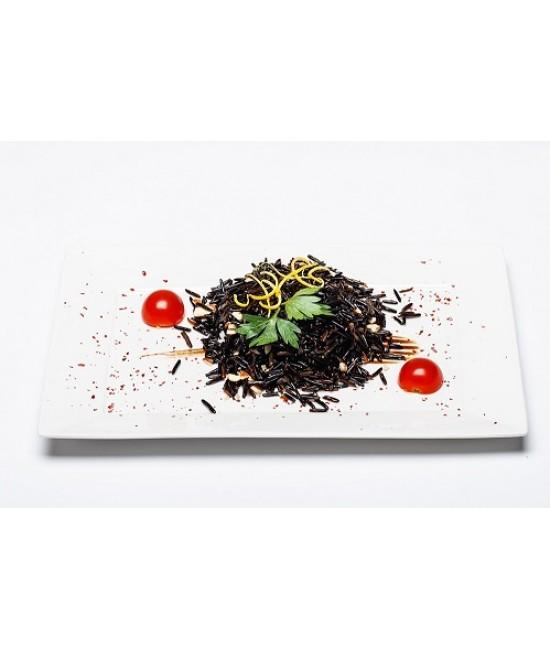 Вега блюда - рис микс с миндалем